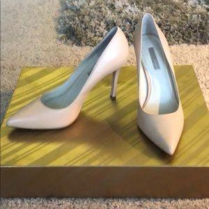 BCBG nude heels